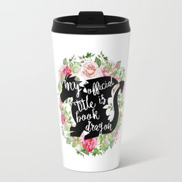 Official Title Book Dragon Travel Mug