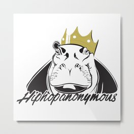 Hiphopanonymous Metal Print
