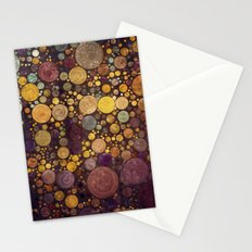 Enchanted Autumn -- Painterly Abstract Fall Color Magic Stationery Cards