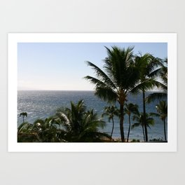 View From Maui Art Print