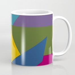 Color Block A Coffee Mug