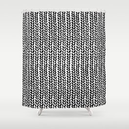 Knit Wave 2 Shower Curtain