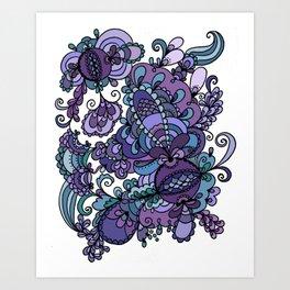 Grapeade Art Print
