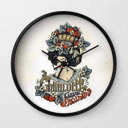 Charlotte aux Fraises Wall Clock