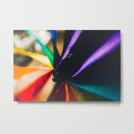 The Color Wheel Metal Print