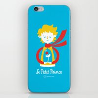 le petit prince iPhone & iPod Skins featuring Le Petit Prince by Andrea Tobar