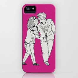 series-kiss  iPhone Case