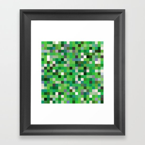 Pixel Painting Framed Art Print