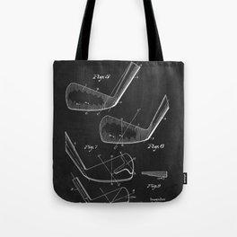 1930's Golf Club Patent Tote Bag