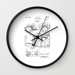 Jeep: Byron Q. Jones Original Jeep Patent Wall Clock