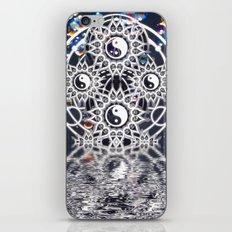 Yin Yang Symmetry Balance Reflection iPhone Skin