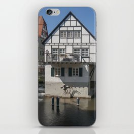 House in the water fisher quarter Ulm - Germany iPhone Skin
