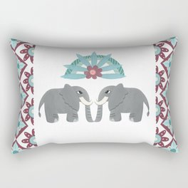 Elephant Honeymoon Rectangular Pillow