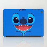stitch iPad Cases featuring Stitch by skyetaylorrr