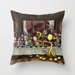 Food Wars Souma Yukihira Throw Pillow