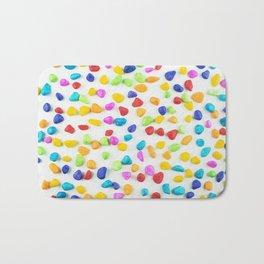 Rainbow rocks Bath Mat