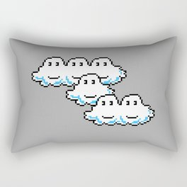 Super Mario Clouds Rectangular Pillow