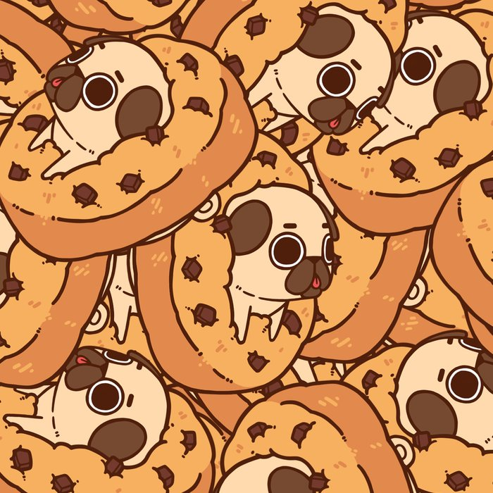 Puglie Cookie Leggings