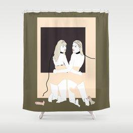 Bitch 3 Shower Curtain