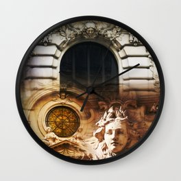 Beautiful Paris by Lika Ramati Wall Clock