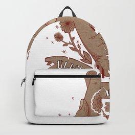 Black Eyed Susan Band art Backpack