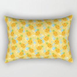 Funny Pineapples 2 Rectangular Pillow