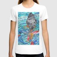 black swan T-shirts featuring Black Swan by Juliana Kroscen