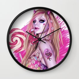 Candy Demon Wall Clock