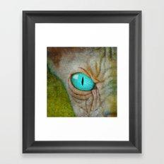 Sphynx Stare Framed Art Print