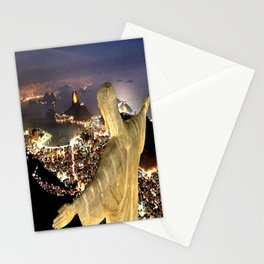 Christ the Redeemer ✝ Statue  Stationery Cards