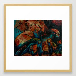 """Jesus Piece"" Framed Art Print"