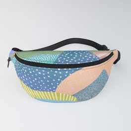 Modern Landscapes and Patterns Fanny Pack