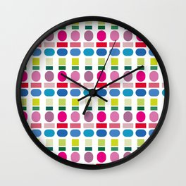 color swatch Wall Clock