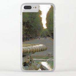 Passeggiata estiva Clear iPhone Case