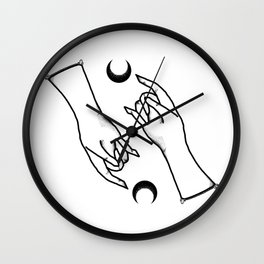 Witch Hand Wall Clock
