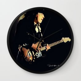 Stevie Ray Vaughan - Graphic 2 Wall Clock