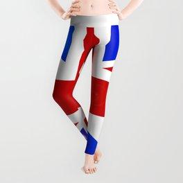 Union Jack Button Leggings