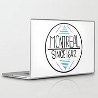 montreal Laptop & iPad Skins featuring Montreal by Aurelie