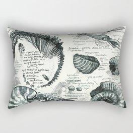 Sketchbook - Fossils Rectangular Pillow