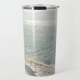 beauty and the beach Travel Mug
