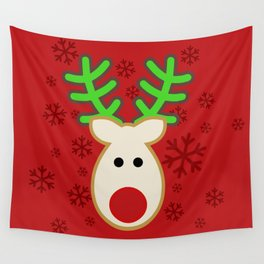 Rudolph the Reindeer Wall Tapestry