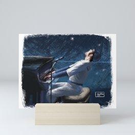 Taron Egerton Mini Art Print