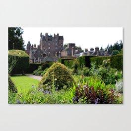 Glamis Castle  Canvas Print