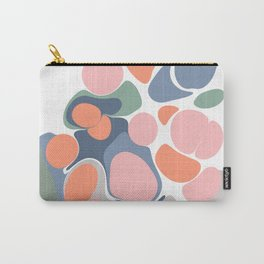 Abstract Shape Flower Art Carry-All Pouch