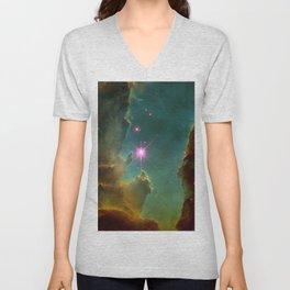 Eagle Nebula Unisex V-Neck