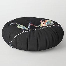 Praying Mantis Dance Floor Pillow