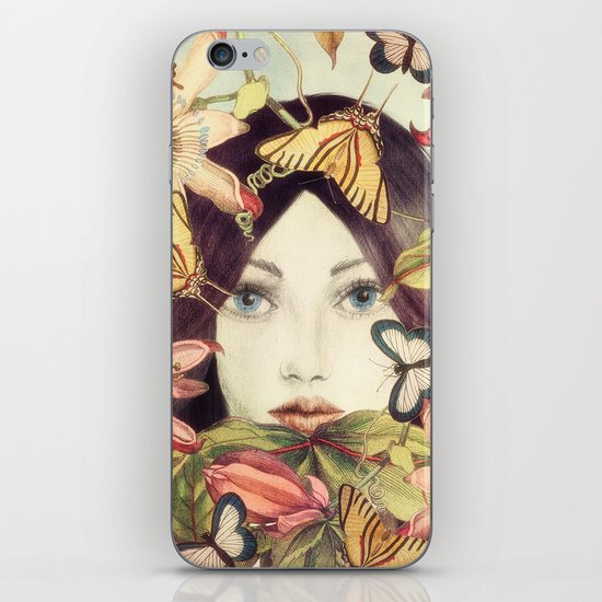 Whispers From A Secret Garden iPhone & iPod Skin