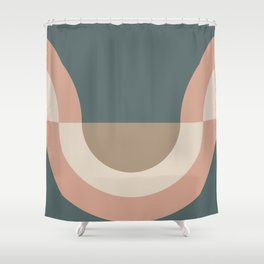 Contemporary Composition 33 Shower Curtain