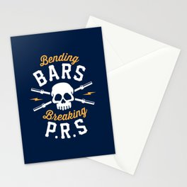 Bending Bars Breaking PRs Stationery Cards