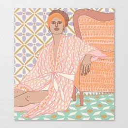 Pastel Babe Canvas Print